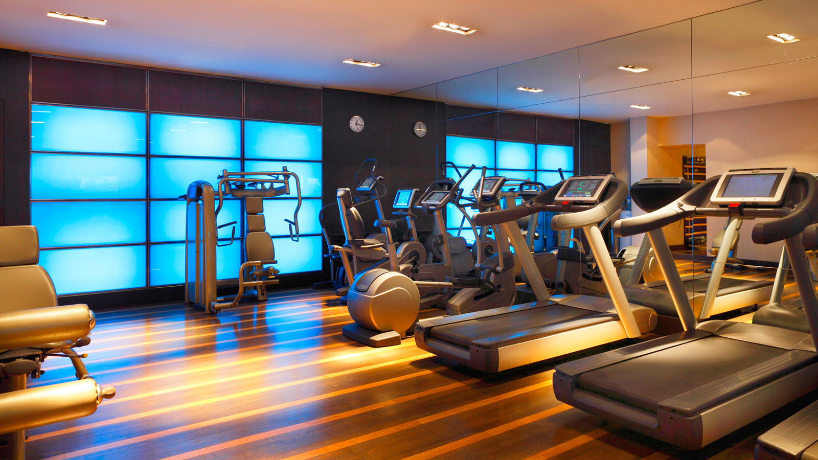 Fitness room Westin Palace Milan